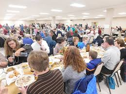 thanksgiving community dinner still a hit news sports