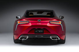 lexus lc 500 launch date 2018 lexus lc 500 packs 471 hp goes on sale next may motor
