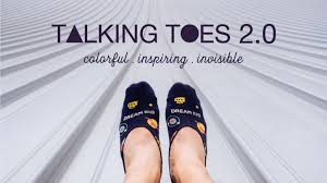 talking toes 2 0 no show socks with inspirational quotes by