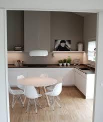 petits meubles de cuisine idée fantasrique couleur mur cuisine taupe petits éléments