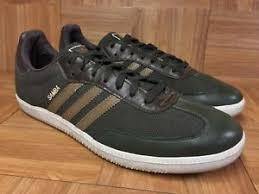 hemp sambas adidas samba leather hemp olive green brown sz 13