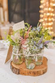 jar centerpiece ideas beautiful rustic wedding centerpiece ideas rustic wedding