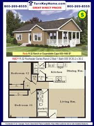 Log Home Floor Plans And Pricing by 6 Bedroom 3 Bath Mobile Home Triple Wide Homes Modular Log Cabins