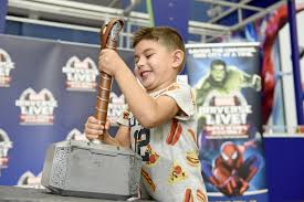 could these ordinary marvel fans lift thor s hammer watch them try