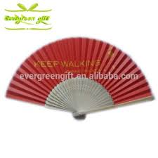 folding fan custom made craft bamboo skeleton paper folding fan with your