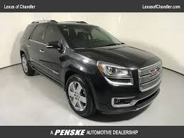 2013 used gmc acadia fwd 4dr denali at tempe honda serving phoenix