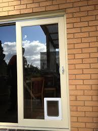 putting cat flap in glass door gallery glass door interior