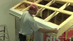 How To Frame A Door Opening How To Build A Shed Part 4 Installing Sheet Metal Roof Youtube