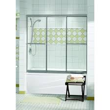 3 Panel Shower Door Discobath Maax Tub Shower 1 4 Plus 3 Panel 55 1 2 X 56