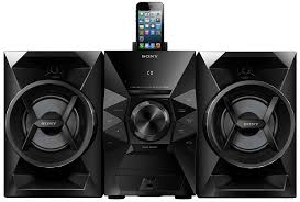 Patio Sound System Design by Amazon Com Sony Mhcec619ip 120 Watts Music System Home Audio