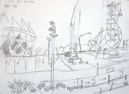 olympic stadium and arcelormittal orbit london olympic site