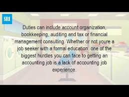 what is accounting experience youtube