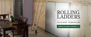 Sliding Bookshelf Ladder Rolling Ladder Kits U0026 Hardware Rolling Interior Barn Doors