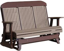 Luxcraft Porch Rocker Amish Yard Classic Highback Amish Merchant