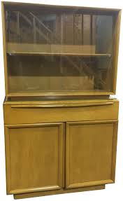 gently used heywood wakefield furniture up to 70 off at chairish heywood wakefield mid century china cabinet