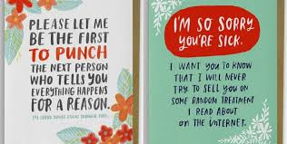 card for sick person cancer survivor creates empathy cards that patients would actually