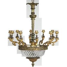 Brass Antique Chandelier 12 Ideas Of French Antique Chandeliers