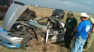 corvette car crash corvette in 230 mph crash at mile