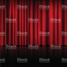 spotlight on stage curtain vector stock vector art 490219562 istock