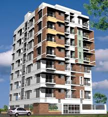 Modern Apartment Building Design Illustration Buildings - Apartment building designs