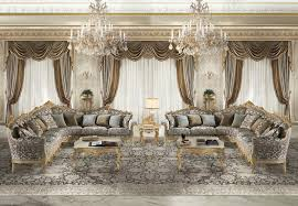 Italian Classic Furniture Living Room by Cechov Classic Italian Modular Sofas For Luxury Living Room