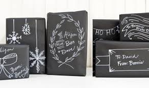 black gift wrapping paper a chalkboard christmas intro