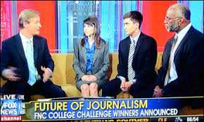Challenge Fox News Journalism Students Win Fox News Channel College Challenge