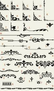 letterhead fonts lhf ornaments golden era studios