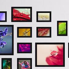 black 26pcs photo frames colorful home decor office picture frames