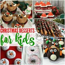 20 most creative christmas dessert ideas for kids