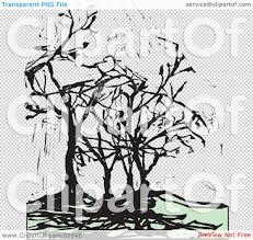 spooky cemetery clipart royalty free rf clipart illustration of spooky black trees and