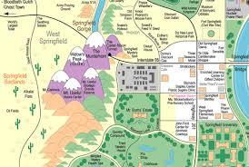 springfield map map of springfield neatorama