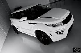 matte white range rover edition range rover evoque according to onyx concept