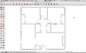 Draw Floor Plan To Scale by How To Draw Doors On A Floor Plan U2013 Modern House
