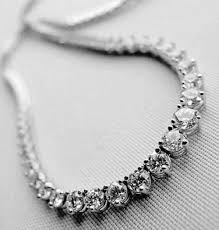 real diamond necklace images Single line diamond necklace 20 ct real certified gold jpg&a