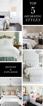 Top  Decorating Styles And Bedroom Themes - Most popular interior design styles
