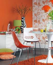 colorful and vibrant picturesque dining room ideas