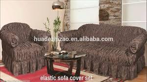 sofa cover 3pcs elastic cheap jacquard sofa cover set buy elastic sofa