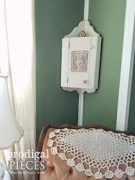 Shabby Chic Corner Cabinet by Shabby Chic Corner Cupboard Prodigal Pieces