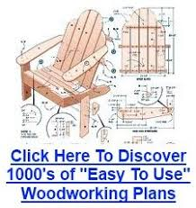 Free Wooden Lawn Chair Plans by 80 Best Adirondack Chair Ideas Images On Pinterest Adirondack