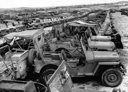 old military jeep wwii vehicle boneyards were essentially war machine landfills
