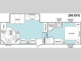 2006 keystone cougar floor plans used 2006 keystone rv cougar 290efs fifth wheel at general rv