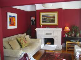 creative red paint living room decor color ideas creative at red