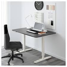 Ikea Stand Up Desk by Bekant Desk Sit Stand Black Brown Black Ikea