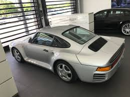 Unicorn Silver Porsche 959 Komfort Shows Up For Sale On Rennlist