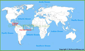 Map Of Caribbean Islands by Cayman Islands Maps Maps Of Cayman Islands