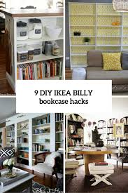 ikea billy bookcase hack 17 diy hacks for ikea billy bookcase you should try shelterness