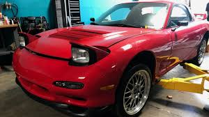 mitsubishi fto wide body our new rx 7 fd youtube