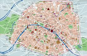 Metro Map Paris by Paris Map With Top Sights Shops Hotels Paris Map Pdf