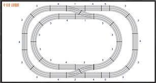 lionel fastrack suburban split layout plan